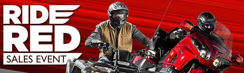 Western Honda Ride Red- Sales Event- Huge Sale on All New Honda Motorcycles, Honda Side by Sides, ATVs, Dirt Bikes and Scooters